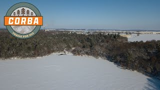 Menomin Park (Menomonie, WI) - Holeshot - Winter Fat Tire Ride (Helmet Cam)