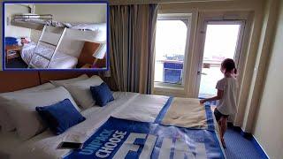 Carnival Vista | Galveston Port | Boarding and Balcony room