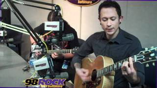 "Trivium ""Built To Fall"" Live & acoustic on 98Rock Baltimore"