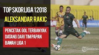 Aleksandar Rakic Berhasil Susul dan Gantikan David da Silva Menjadi Topskor Liga 1 2018