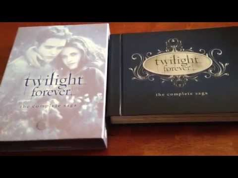 *UNBOXING* TWILIGHT FOREVER: THE COMPLETE SAGA BLU RAY - 10 DISC BOX SET
