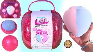BIG LOL BUBBLY Surprise Blind Bag with Fizzy Heart In Water - Toy Video