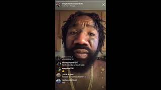 BOSKOE100 CALLS OUT 50 CENT FOR DRY SNITCHING ON MAYWEATHER & MORE