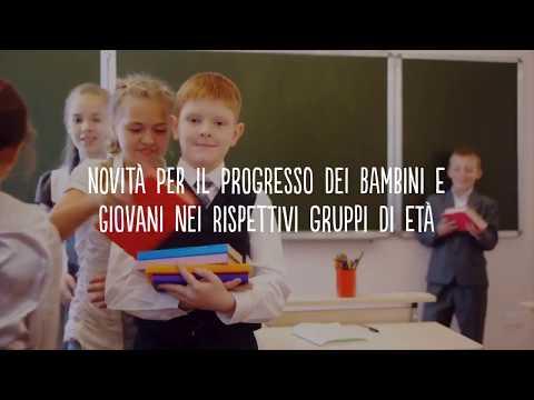 Novità per il progresso di bambini e giovani nei rispettivi gruppi di età