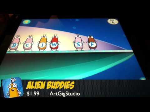 Alien Buddies – iPad App Review (Education)