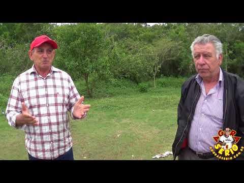 Prefeito Ayres Scorsatto e Jaime visita local onde será construído a Creche do Jardim das Palmeiras