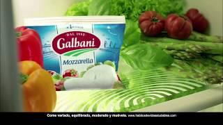Galbani fresca, jugosa y deliciosa mozzarella. anuncio