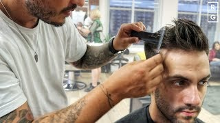 Short Haircut & Best Styling Tips For Men With Fine Hair