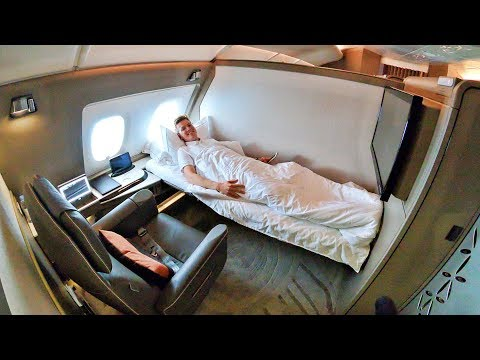 Singapore Airlines A380 NEW First Class Suites – What Did I Think?