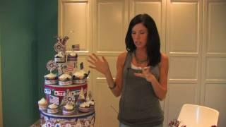 Cupcake Tower (Step 7) - Using The Cricut Expression