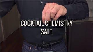 Getting Started - Adding Salt To Cocktails