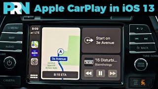 iOS 13 Updates for Apple CarPlay