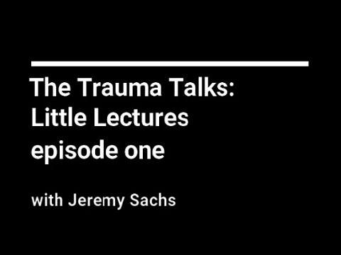 Here's a short psycho-education video I created for some clients about behaviour and the experience of trauma in childhood.