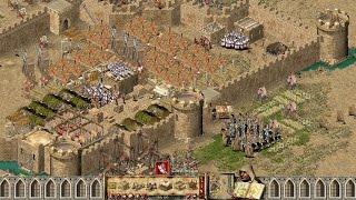 Stronghold Crusader Multiplayer - 2vs1 Sneaking SergiuHellDragoonHQ