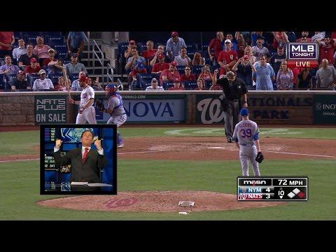Dan Plesac Predicts Murphy Strikeout Live On MLB Tonight