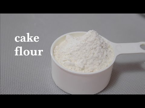 Video how to make cake flour at home/cake flour substitute--Cooking A Dream