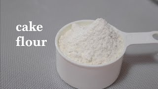 making sponge cake with plain flour