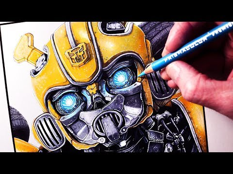 Let's Draw BUMBLEBEE - FAN ART FRIDAY