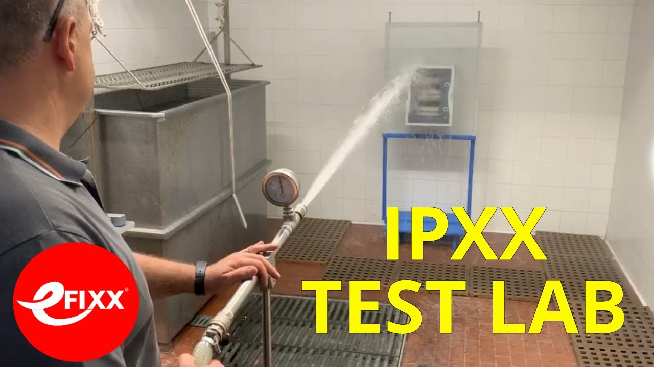 IP66, IP67, IPx7, IP68 - Ingress protection of dust, water and testing of electrical equipment