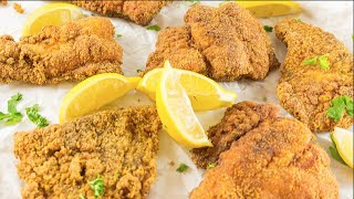 Southern Fried Catfish Recipe  How to Deep Fry Catfish