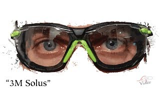 Unpacking 3M™ Solus™ 1000-Series Safety Glasses