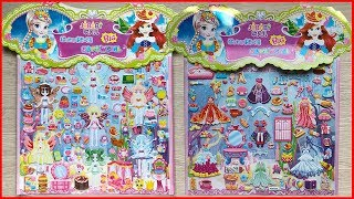Toys for kids, Stickers book, Butterfly Fairy and the doll house (Chim Xinh channel)