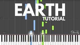 EARTH | PIANO TUTORIALS  (Synthesia)