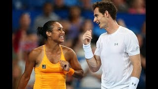 WTA Players send their well wishes to Andy Murray