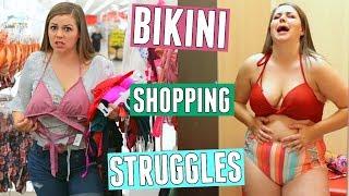 Bikini Shopping Struggles! Curvy Girl Problems! || Sierra Schultzzie