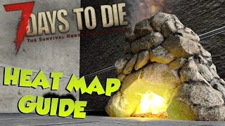 7 Days to Die Heat Map Guide |What is it  how its generated| 7 Days to Die Heat Map System Tutorial