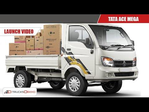 2019 Tata Ace Mega Launch Trucksdekho Video Review At