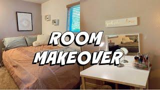 BEDROOM MAKEOVEREDOING MY ROOM UNDER $100! | + Room Tour
