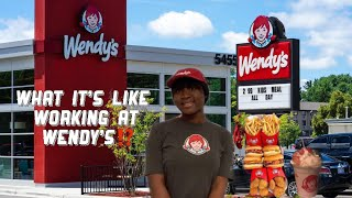 What it's like working at Wendy's 🍗🍟 *Six weeks Into the job 🤗