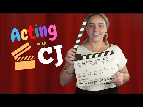 Acting Classes for KIDS! Episode 1 - Acting with CJ