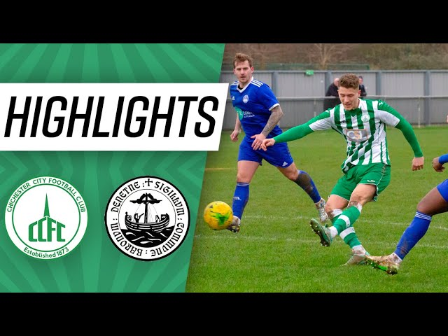 Highlights: Chichester 2-1 Hythe Town