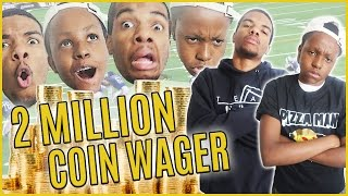 2 MILLION COIN WAGER CAUSES EMOTIONAL ROLLER COASTER! - MUT Wars Ep.64 | Madden 17 Ultimate Team
