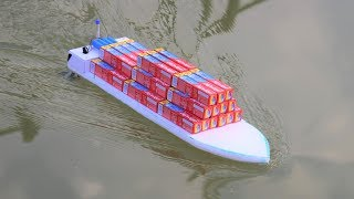 How to make a Boat - how to make a ship with boat