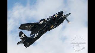 The best sounding Warbird - Grumman F7F Tigercat
