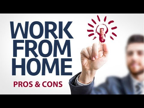 Work at Home Pros and Cons