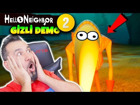 GİZLİ HELLO NEIGHBOR 2 GUESTS OYUNU DEMOSUNU BULDUK! BU YARATIK NE? | HELLO NEIGHBOR GUESTS