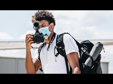"NBA Player shoots and edits a candid video inside the Orlando ""Bubble"" where the NBA is trying to continue"