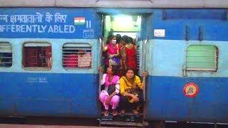 Crowded passenger train | Lalgola -Kolkata Passenger train | Indian Railway