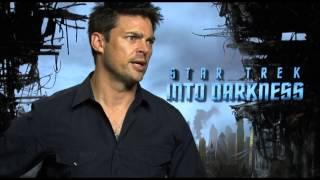 Karl Urban interview - STAR TREK INTO DARKNESS - RIDDICK - DREDD