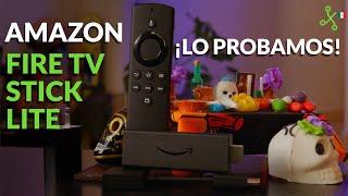 Amazon Fire TV Stick Lite en México: ALEXA en tu vieja televisión sin gastar (tanto)