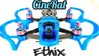 Ethix Cinerat Full Review - non-Ducted Cinewhoop, Camera Drone, Smooth footage, Rush Tank Ultimate