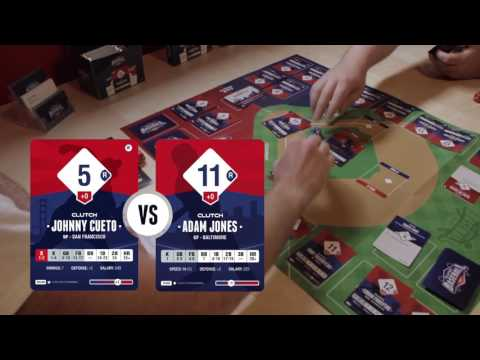 Clutch Baseball Starter Set Unboxing + Gameplay