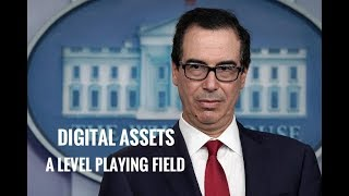"Mnuchin - ""A Level Playing Field"" and SBI VC To Go Live Soon???"