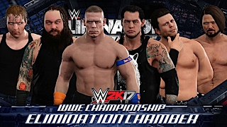 WWE 2K17: Elimination Chamber 2017 - Elimination Chamber Match for WWE Championship