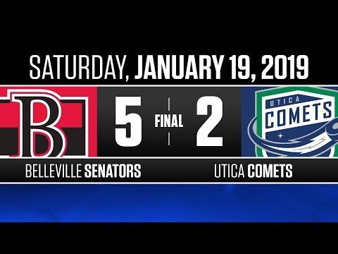 Senators vs. Comets | Jan. 19, 2019