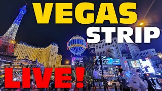 Las Vegas LIVESTREAM Walking The Strip Saturday